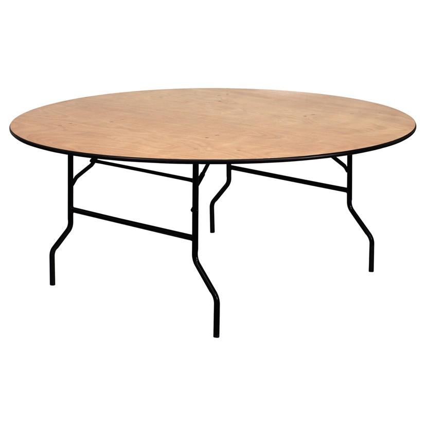 6' Circular table