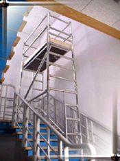 Stairwell scaffolding