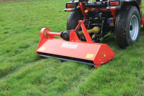Flail mower attachment