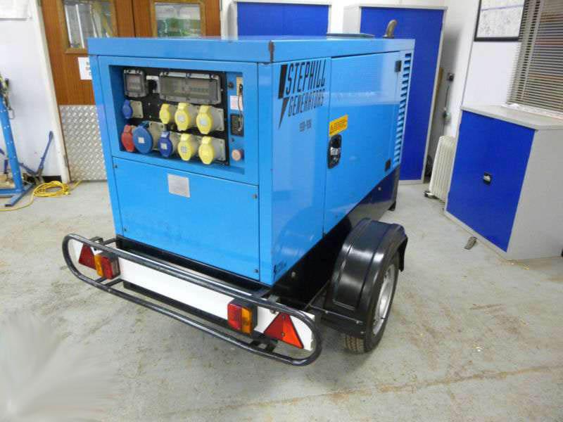 stephill 26kva generator
